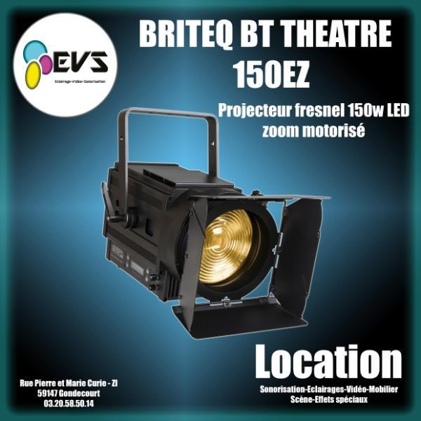 BRITEQ - BT THEATRE 150 EZ - Projecteur fresnel avec zoom électronique