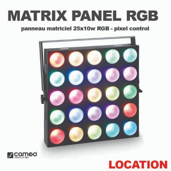 CAMEO - MATRIX PANEL RGB