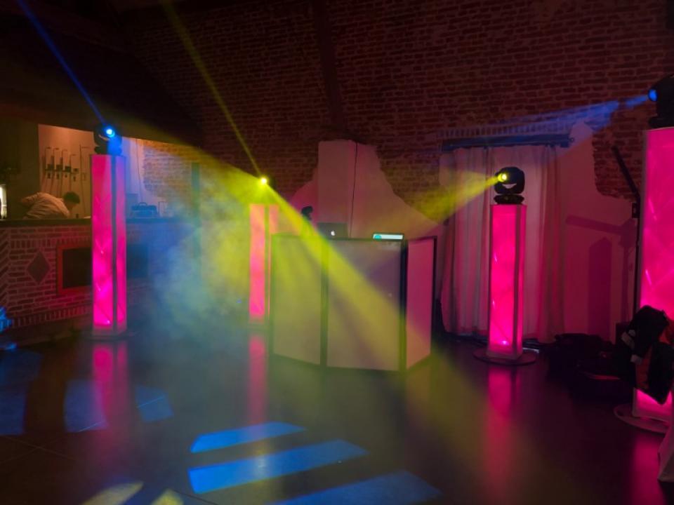 Prestation deejay pour le mariage de A&C à la Cense des sources en Belgique